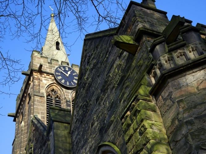 coleshill-church